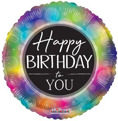 Happy Birthday to You Rainbow Balloon (18 inch)