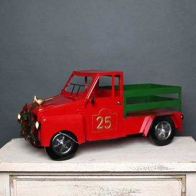 LED Christmas No25 Red Truck