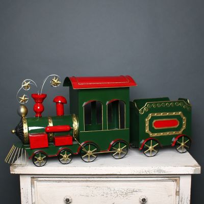 Christmas Train Red & Green