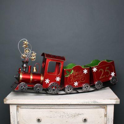 Christmas Train Red No25