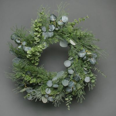Eucalytus and pine Wreath 65cm