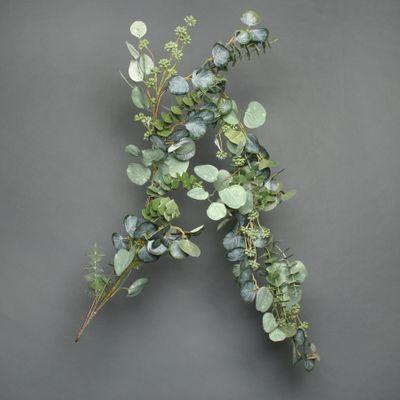 Eucalytus and white berry Garland 150cm