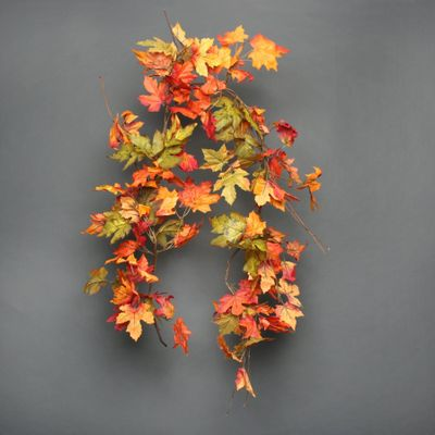 Autumnal Oak and acorn  garland 150ccm