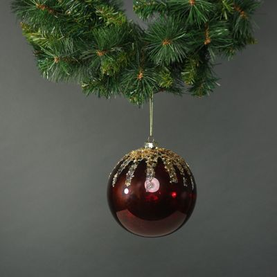 Zanna 15cm Glass Bauble (1)
