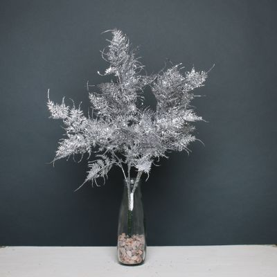 Glitter fern bush Silver