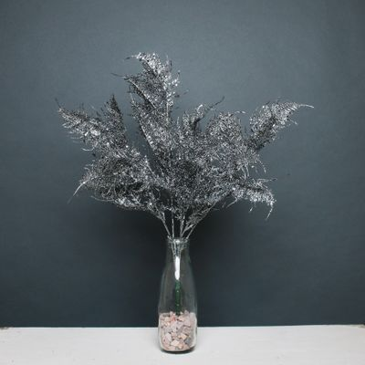 Glitter fern bush Pewter