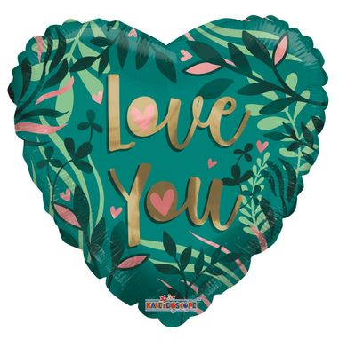 ECO ONE Balloon - Love Green (18 inch)