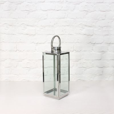 Square Woodthorpe Lantern  (H38 x 14 x 14cm)