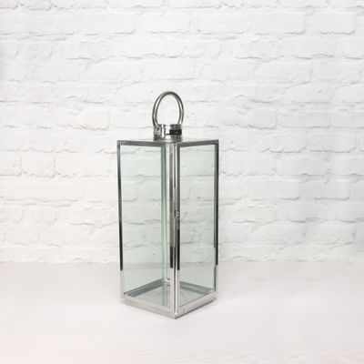 Square Woodthorpe Lantern  (H48 x 18 x 18cm)