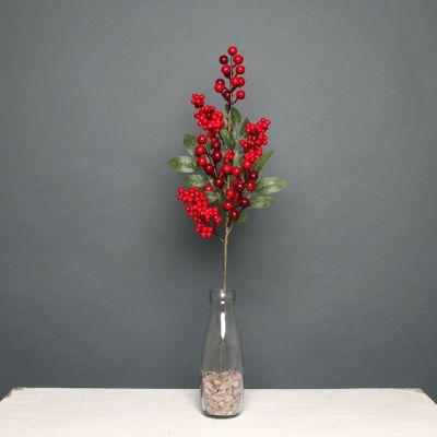 Red Berry stem 65cm