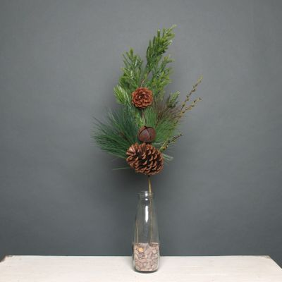 Pine cone and bell Pick