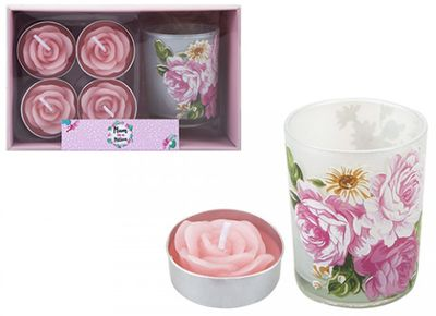 VOTIVE TEALIGHT SET