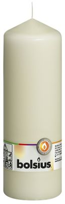 Bolsius Pillar Candle Ivory (200/70 mm)