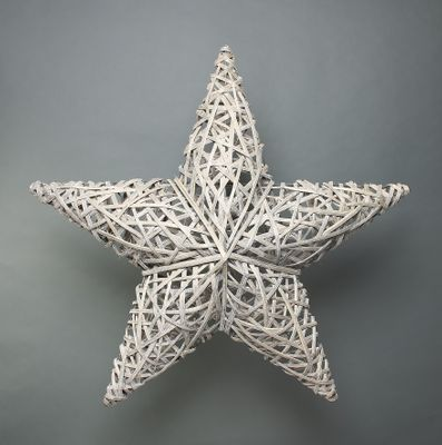 Lafayette Grey Washed willow star 90cm