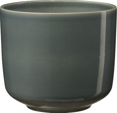 Bari Ceramic Pot High Gloss Green-Blue (W16 x H14cm)