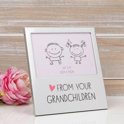 From Your Grandchildren Aluminium Photo Frame