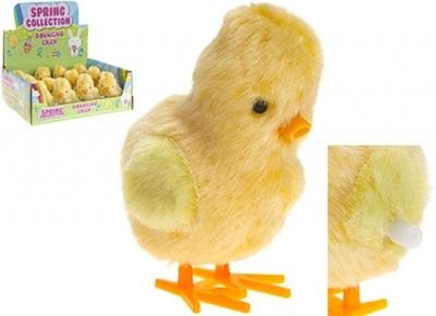 Clockwork Bouncing Yellow Chick