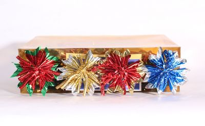 Gold, Red, Green & Blue Starlight Bows