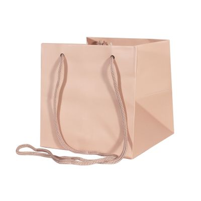 17x17cm Rose Gold Hand Tie Bag (10/100)