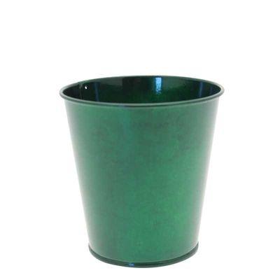 10cm Green Metal  Flower Pot (96)