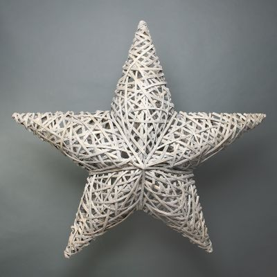 Lafeyette Grey Washed Willow Star