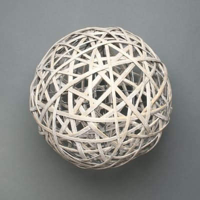 Lafeyette Grey Washed Willow Sphere