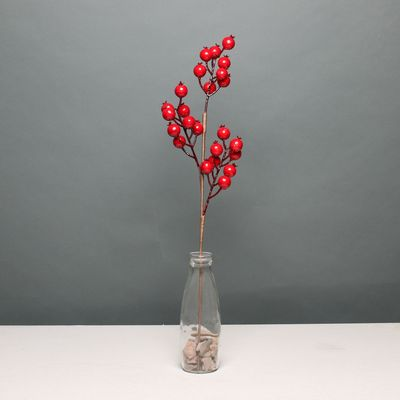 Red Berry Stem (62cm)