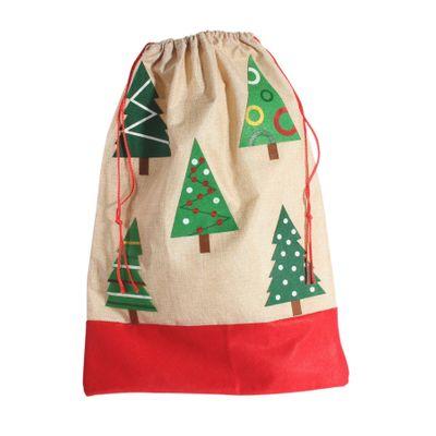 Christmas Tree Santa Sack (H 70cm x W 49cm)