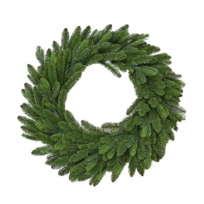 "Vermont 90CM (36"") Spruce Double Wreath 297 Tips"