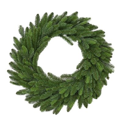 "Vermont 120CM (48"") Spruce Double Wreath 508 Tips"