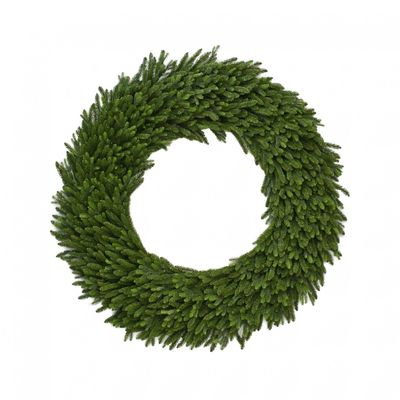 "Vermont 150CM (60"") Spruce Double Wreath 1050 Tips"