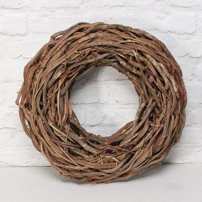 Wreath Flat Rattan D48.0 Natural