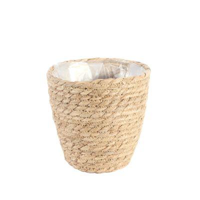 16cm Round Natural Seagrass Basket