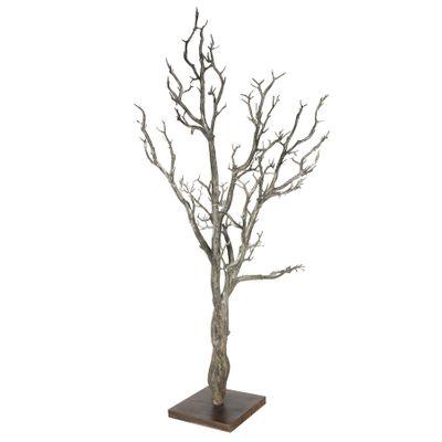"""41"""" Manzanita Wishing Tree W/MDF Base Natural Brown (1/2)"""