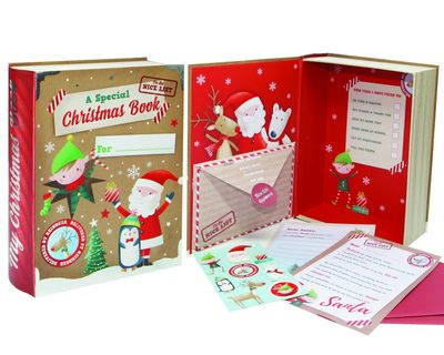 Christmas Eve Book - Santa & Friends
