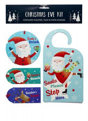 Christmas Eve Kit - Santa & Friends
