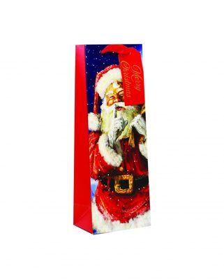 Traditional Santa Bottle Bag
