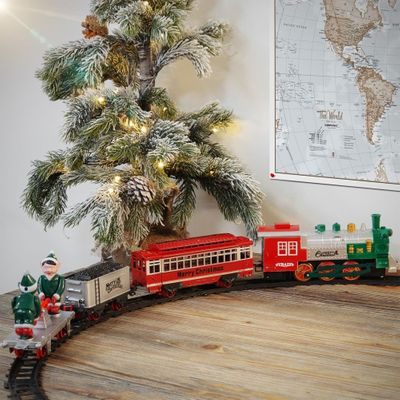 Christmas Tree Trains