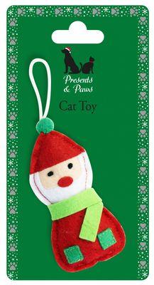 Santa Cat Toy
