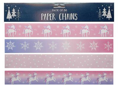 Unicorn 36 Paper Chains