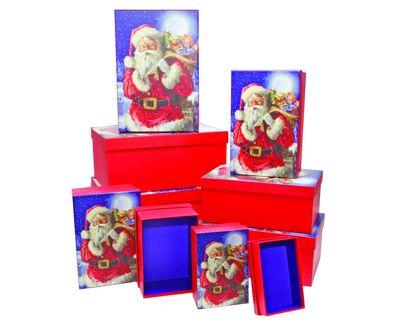 Nested Santa Boxes (x10)