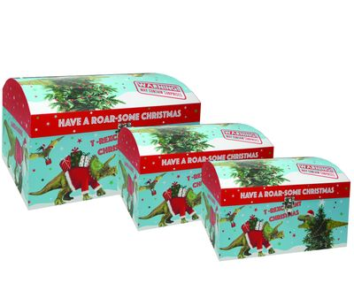 Dino Nested Gift Boxes (x3)