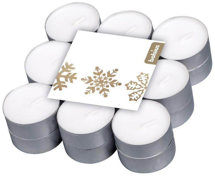 Bolsius Scented tealights 4hr 18pack - Vanilla