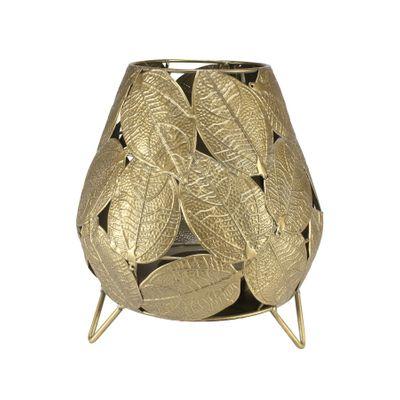Brocante Salal Leaf Candleholder (S)