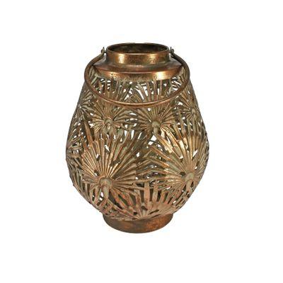 Brocante Palm Lantern Copper (S)
