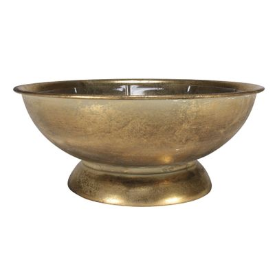 Brocante Flower Bowl Gold (26cm)