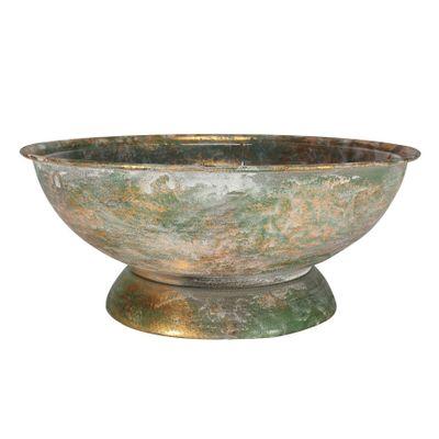 Brocante Flower Bowl Silver (26cm)