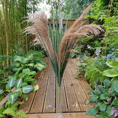 Pampas Bush 3 heads 85cm