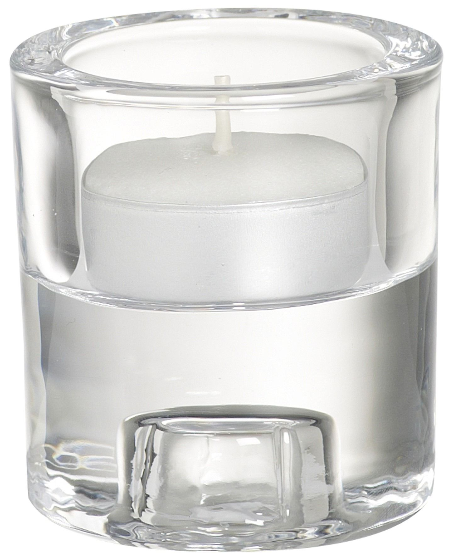 2-in-1 Candle holder round