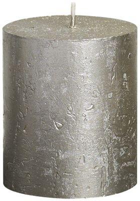 Bolsius Rustic Metallic Candle - Champagne (80mm x  68mm)